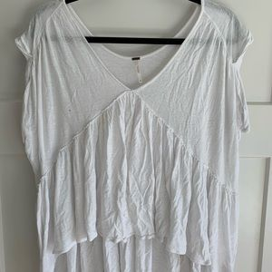Free people white shirt